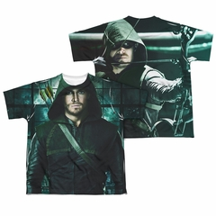 Arrow Shirt Hooded Sublimation Youth Shirt