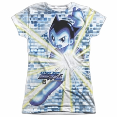 Astro Boy Beams Sublimation Juniors Shirt