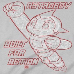 Astro Boy Built For Action Shirts
