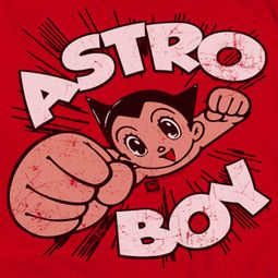Astro Boy Flying Shirts