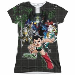 Astro Boy Group Sublimation Juniors Shirt