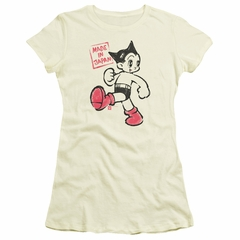 Astro Boy Juniors Shirt Made In Japan Cream T-Shirt
