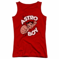 Astro Boy Juniors Tank Top Flying Red Tanktop