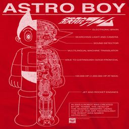 Astro Boy Schematics Shirts
