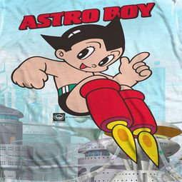 Astro Boy City Boy Sublimation Shirts