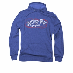 Astro Pop Hoodie Vintage Logo Royal Blue Sweatshirt Hoody