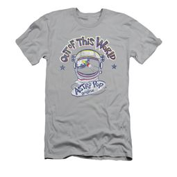 Astro Pop Shirt Slim Fit Out Of This World Silver T-Shirt