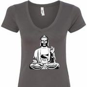 At Peace Buddha Ladies Shirts