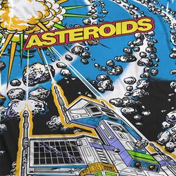 Atari Asteroids All Over Sublimation Shirts