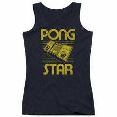 Atari Juniors Tank Top Pong Star Black Tanktop