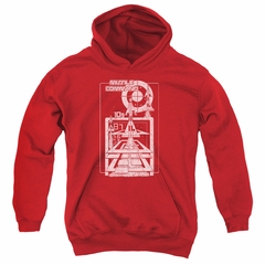 Atari Kids Hoodie Lift Off Red Youth Hoody