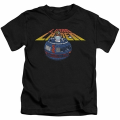 Atari Kids Shirt Lunar Globe Black T-Shirt