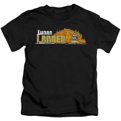 Atari Kids Shirt Lunar Lander Black T-Shirt
