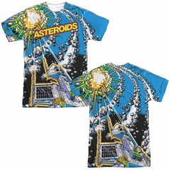 Atari Shirt Asteroids All Over Sublimation Shirt Front/Back Print