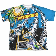 Atari Shirt Asteroids All Over Sublimation Youth Shirt