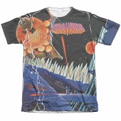 Atari Shirt Gravitar Poly/Cotton Sublimation Shirt
