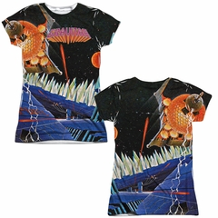 Atari Shirt Gravitar Sublimation Juniors Shirt Front/Back Print