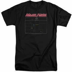 Atari Shirt Major Havoc Screen Black Tall T-Shirt