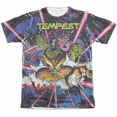 Atari Shirt Tempest Key Art Poly/Cotton Sublimation T-Shirt