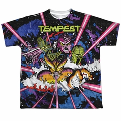 Atari Shirt Tempest Key Art Sublimation Youth T-Shirt