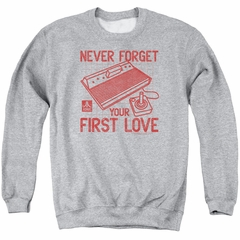 Atari Sweatshirt First Love Adult Athletic Heather Sweat Shirt