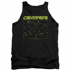Atari Tank Top Centipede Screen Black Tanktop