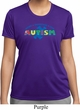 Autism Accept Understand Love Ladies Moisture Wicking Shirt