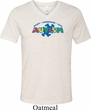 Autism Accept Understand Love Tri Blend V-neck