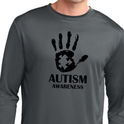 Autism Awareness Hand Dry Wicking Long Sleeve