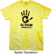 Autism Awareness Hand Spider Tie Dye T-shirt