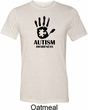 Autism Awareness Hand Tri Blend T-shirt