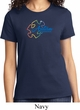 Autism Awareness Puzzle Ladies Shirt