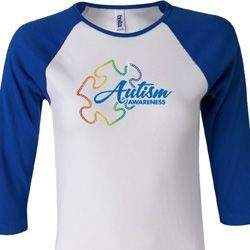 Autism Awareness Puzzle Ladies Shirts