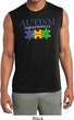 Autism Awareness Puzzle Pieces Dry Wicking Muscle Shirt