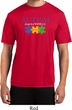 Autism Awareness Puzzle Pieces Dry Wicking T-shirt