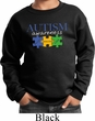 Autism Awareness Puzzle Pieces Kids Sweatshirt