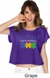 Autism Awareness Puzzle Pieces Ladies Boxy Tee