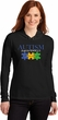 Autism Awareness Puzzle Pieces Ladies Hooded Shirt