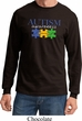 Autism Awareness Puzzle Pieces Long Sleeve