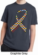 Autism Awareness Ribbon Kids Moisture Wicking Shirt