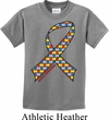 Autism Awareness Ribbon Kids Shirt
