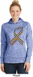 Autism Awareness Ribbon Ladies Dry Wicking Hoodie