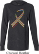 Autism Awareness Ribbon Lightweight Hoodie Tee