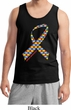 Autism Awareness Ribbon Mens Tank Top