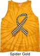 Autism Awareness Ribbon Tie Dye Tank Top