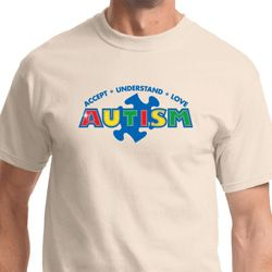 Autism Accept, Understand, Love Mens Shirts