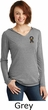 Autism Ribbon Pocket Print Ladies Tri Hoodie