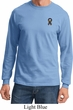 Autism Ribbon Pocket Print Long Sleeve