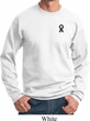 Autism Ribbon Pocket Print Sweatshirt