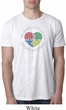 Autism Shape of My Heart Burnout T-shirt